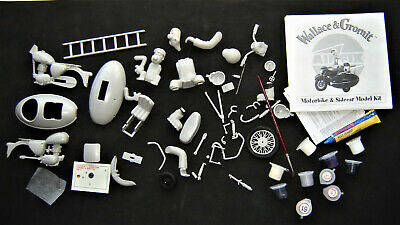Airfix 51100 Wallace & Gromit Motorbike & Sidecar SPARES ONLY Missing Parts • 10£