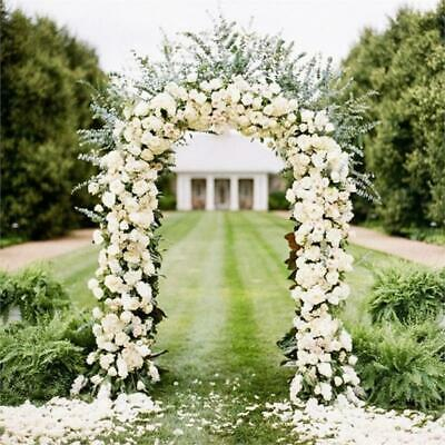 $24.74 • Buy Decorative METAL Wedding ARCH 90  X 55  Wedding Party Decorations Supplies SALE