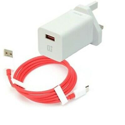 AU9.37 • Buy Genuine OnePlus DASH UK/EU 6T 6 5T 5 3T USB Type-C Fast Charger Adapter & Cable