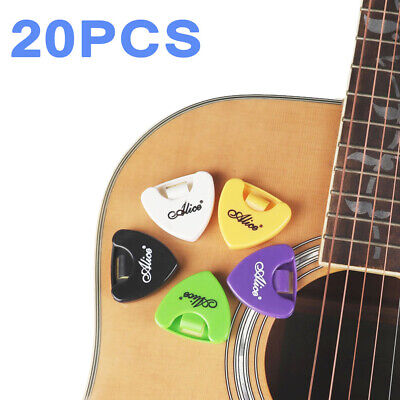 $ CDN13.10 • Buy 20Pcs Guitar Picks Holder Plectrums Case Box Self-Adhesive Plastic Portable