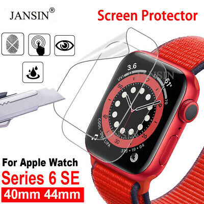 $ CDN2.67 • Buy 1/2PCS Hydrogel Soft Screen Protector Film For Apple Watch Series 6 IWatch SE
