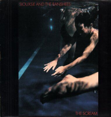 SIOUXSIE AND THE BANSHEES Scream LP VINYL UK Polydor 1978 10 Track With Inner • 15.75£