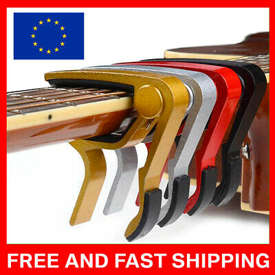 $ CDN14.07 • Buy Guitar Capo Electric Clamp Quick Clamp Key Capo Capo Trigger Quick
