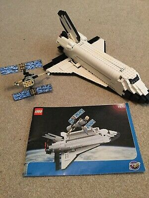Lego 7470 Nasa Space Shuttle Discovery Complete With Instructions • 20£