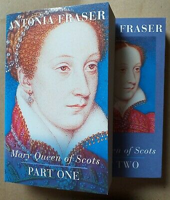 Mary Queen Of Scots By Antonia Fraser, Parts One And Two, History, Britain, Book • 5£