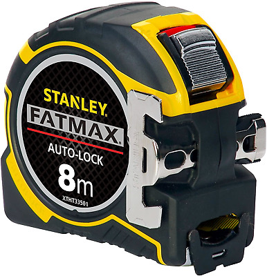 Stanley FatMax® XTHT0-33501 Auto-Lock 8m Metric Tape Measure 32mm Wide Blade • 26.80£