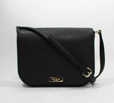 $ CDN119 • Buy Kate Spade Laurel Way Large Carsen Black Crossbody Handbag NWT $269