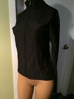 $ CDN24.99 • Buy Lululemon Black Running Jacket Size 6 With Sheer Sides Cut Out Tag Attached
