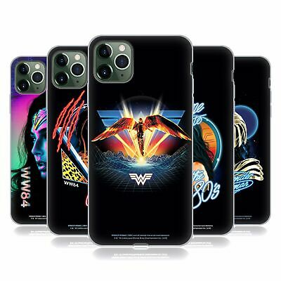 OFFICIAL WONDER WOMAN 1984 80'S GRAPHICS SOFT GEL CASE FOR APPLE IPHONE PHONES • 14.95£
