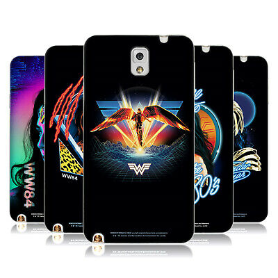 Official Wonder Woman 1984 80's Graphics Soft Gel Case For Samsung Phones 2 • 14.95£
