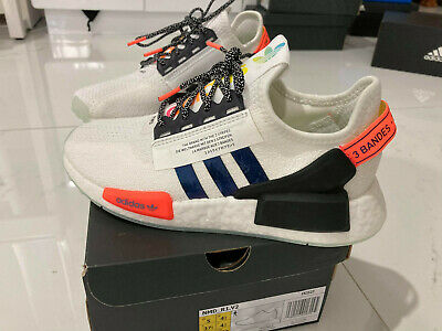 AU165 • Buy Adidas NMD R1 V2 Shoes Cloud White -Size 5 US Unisex- Authentic - Free Delivery