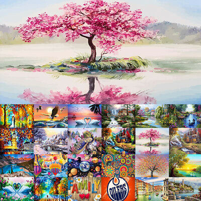 AU13.95 • Buy 5D Full Drill Diamond Painting Landscape Embroidery Cross Stitch Arts Kit Mural