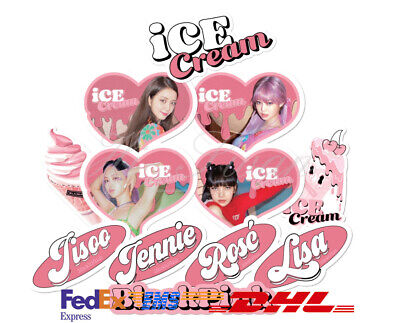 $ CDN26.61 • Buy [BLACK PINK] - BLACKPINK ICECREAM STICKER Authentic Goods