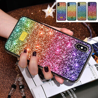 AU17.99 • Buy For IPhone SE 2020 11Pro Max 7 8Plus Diamond Colourful Glitter Hybrid Case Cover