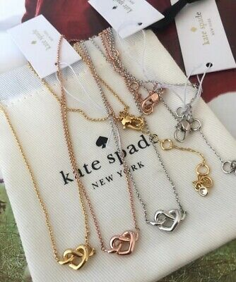 $ CDN30.35 • Buy Kate Spade New York LOVES ME KNOT Gold Plated Mini Pendant Necklace
