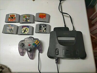 AU350 • Buy Nintendo 64, 2 Controllers And 6 Games