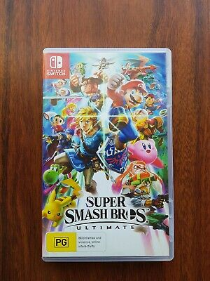 AU61 • Buy Super Smash Bros Ultimate (Nintendo Switch) LIKE NEW