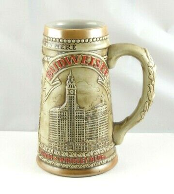 $ CDN32.60 • Buy Beautiful 1980's Vintage Budweiser Limited Edition Chicagoland Stein
