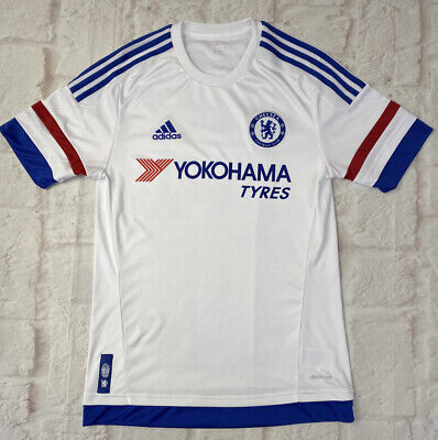 L69 2015-16 Chelsea Away Shirt Vintage Football Jersey Small  • 4£