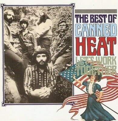 Canned Heat - Let's Work Together (The Best Of Canned Heat) (CD 1989) 20 Tracks • 1.99£