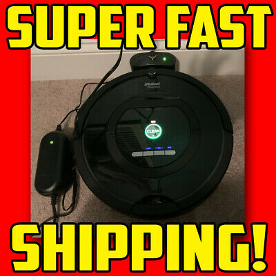 + IRobot Roomba 770 Vacuum Cleaning Robot - Black With Docking Station & Charger • 50.05£