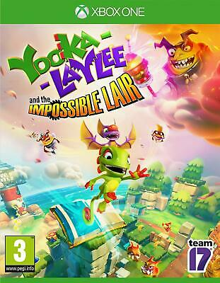 AU42.69 • Buy Yooka-Laylee And The Impossible Lair Xbox One Microsoft XB1 Video Game - NEW