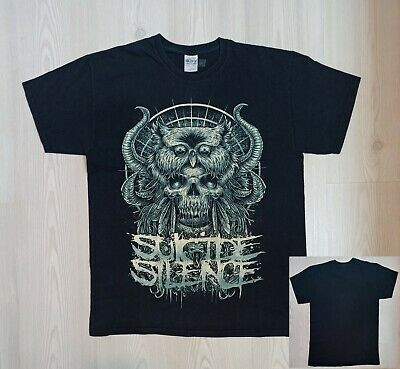 £17.06 • Buy Rare SUICIDE SILENCE (American Deathcore) T-Shirt  (L)