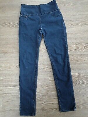 AVON, MATERNITY SKINNY JEANS Size 10 30 Inside Leg GOOD CLEAN CONDITION  • 4£