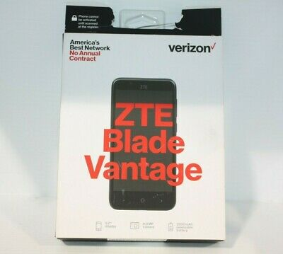 $29.99 • Buy ZTE Blade Vantage Z839 - 16GB - Black - (Verizon Prepaid) Smartphone