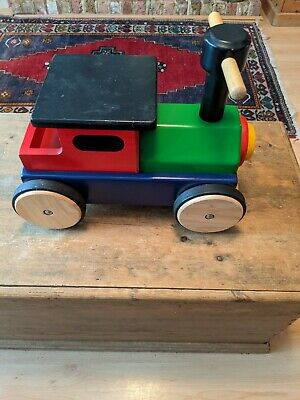 £46.95 • Buy John Crane Pintoy - Ride On Wooden Train Toy Exc Cond. Used. Collectable.