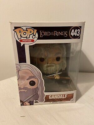 Funko Pop Movies Lord Of The Rings Gandalf Number 443 Boxed Hobbit Film Figure • 8.95£