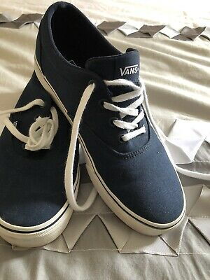 AU20 • Buy Vans Blue Women's Size 8 (38.5 Euro) Very Little Use
