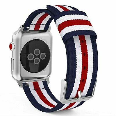 AU5.99 • Buy For Apple Watch IWatch Band Series 6 5 4 3 2 1 SE Woven Nylon Sports  Strap