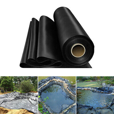 High Quality Garden Fish Pond Liner Flexible HDPE Pool Landscaping Membrane • 13.99£