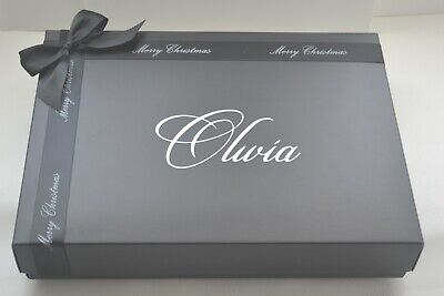 Large Personalised Christmas Gift Box  305 X 220 X 55mm(A4 Size)  • 8.99£