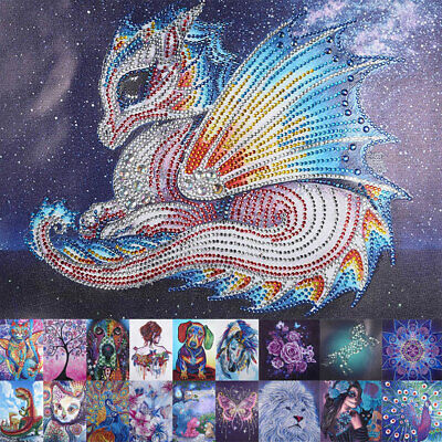 AU12.89 • Buy 5D Diamond Painting Embroidery Cross Craft Stitch Arts Kit Mural Decor Gift NEW