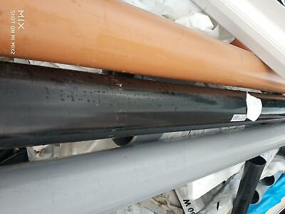 £5.49 • Buy 110mm Drainage And Waste Pipe 50CM   Lengths Free Postage To Your Door