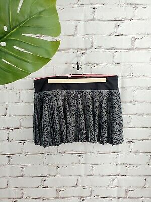 $ CDN80 • Buy Lululemon Pleat To Street Skirt Skort Watermark Slate Black Size 10