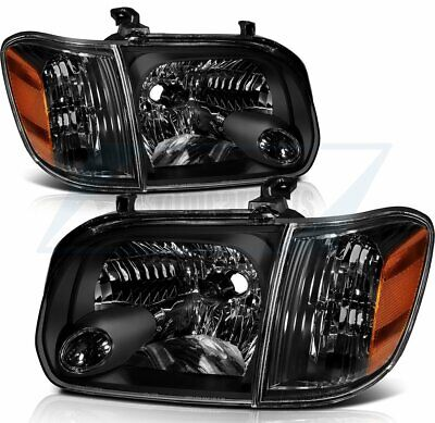$144.03 • Buy For 05-06 Toyota Tundra 07 Sequoia Replacement Halogen Headlights Light Pair