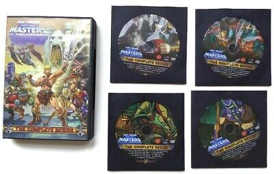 $65 • Buy He-Man And The Masters Of The Universe: The Complete Series (DVD, 2009,...