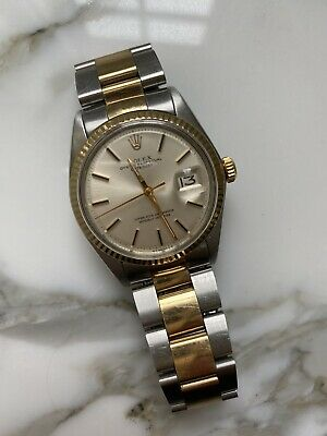$ CDN6042.48 • Buy Rolex Datejust 36mm Stainless Steel And Gold Two Tone Champagne Dial