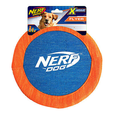 £10.99 • Buy Nerf Dog X Weave Flyer Dog Puppy Throw Disc Frisbee Outdoor Toy Fetch 6073