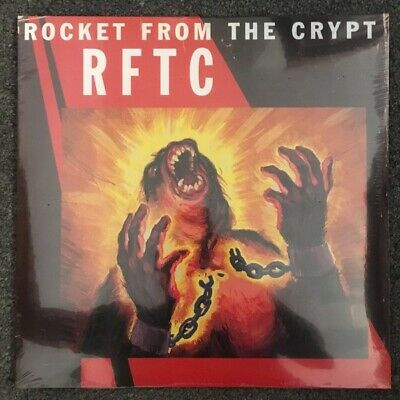 Rocket From The Crypt - RFTC - Double Vinyl - Sealed - New • 13.50£
