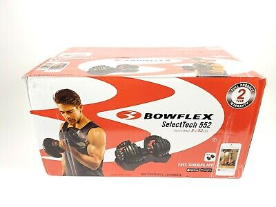 $ CDN353.08 • Buy One Bowflex SelectTech 552 Adjustable Dumbbell Weight Single New Sealed