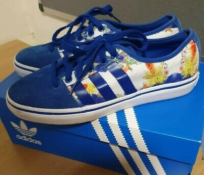 Adidas Adria Lo W-m25539 Trainers Womens Size 7. Flowers/Floral. VGC! & Box • 21.50£