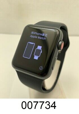 $ CDN234.58 • Buy Apple Watch Series 3 42mm Space Gray Aluminum Case M/L Black Band (GPS + LTE)
