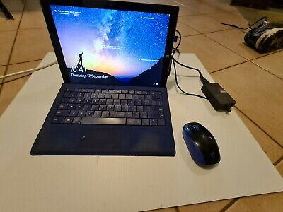 AU113.50 • Buy Microsoft Surface Pro 3 I5 8GB 256GB 12in WIN 10 PRO & 2 Keypads Mouse Word 2007