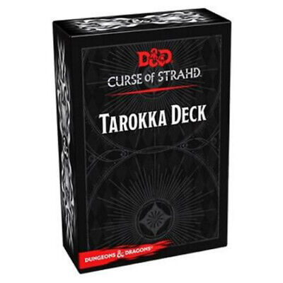 AU22.45 • Buy D&D Curse Of Strahd Tarokka Deck - Dungeons And Dragons