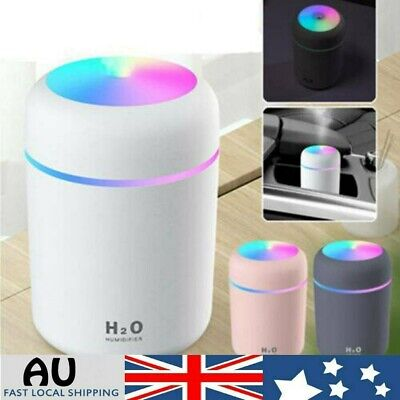 AU15.98 • Buy Portable Air Humidifier Aroma Aromatherapy Ultrasonic USB Diffuser Oil Purifier