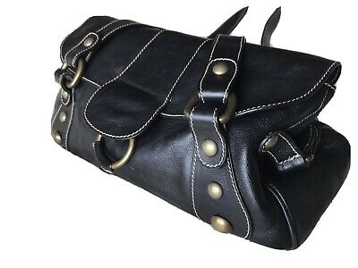 Hobbs Black Leather Bag  • 22£